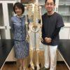 母校の小学校に骨格模型を寄贈いたしました